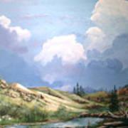 Alpine Vale Art Print