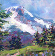 Alpine View Art Print