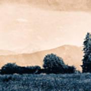 Alpine Western Art Print