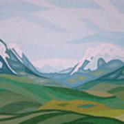 Alps 2 Art Print