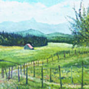 Alps From Geneva Switzerland 2016 Art Print