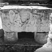 Altar At Copan Ruins In Honduras Art Print