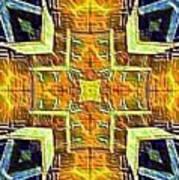 Altar Cross Tapestry Art Print