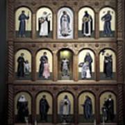 Altar Screen Cathedral Basilica Of St Francis Of Assisi Santa Fe Nm Art Print