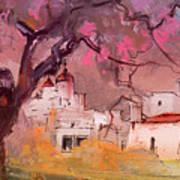 Altea La Vieja In Spain 18 Art Print