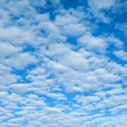 Alto-cumulus Art Print