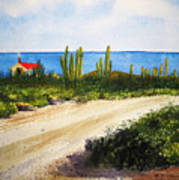 Alto Vista Chapel Art Print by Shirley Braithwaite Hunt