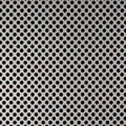 Aluminum Hole Texture Silver Metal Circle Steel Art Print