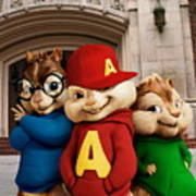 Alvin And The Chipmunks Art Print