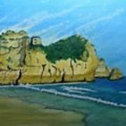 Alvor Praia's Art Print