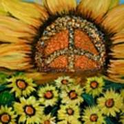 Always Face The Sun Art Print