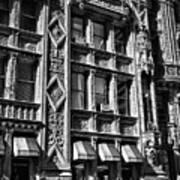 Alwyn Court Building Detail 14 Art Print