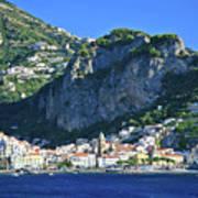 Amalfi Cove Art Print