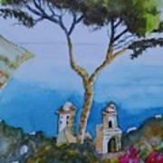 Amalfi Italy Color Art Print