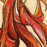 Amaryllis Bulb Art Print