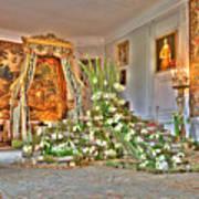 Amaryllis Exhibition In Beloeil Castle, Belgium Art Print