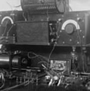 Amateur Wireless Station, Photograph Print by Everett