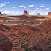 Amazing Monument Valley Art Print