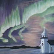 Amazing Northern Lights Art Print