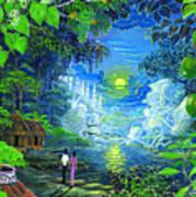 Amazonica Romantica Art Print