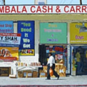 Ambala Cash And Carry Art Print