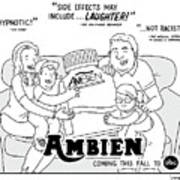Ambien Coming This Fall To Abc Art Print