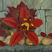 Ambrosia Flower Art Print