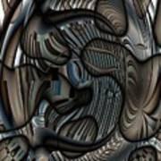 Ameboids Art Print