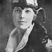 Amelia Earhart, Us Aviation Pioneer Art Print by Science, Industry & Business Librarynew York Public Library