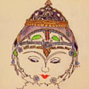 Amerat Goddess Of Flora Art Print
