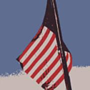 Amercan Flag Art Print