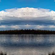 America The Beautiful 2 - Alaska Art Print