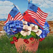 America The Beautiful-jp3210 Art Print