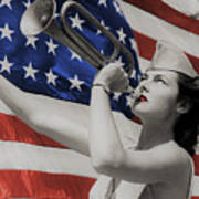 America The Beautiful Art Print