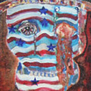 America Under Fire Art Print