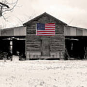 American Barn Art Print