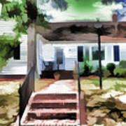 American Beautiful House Art Print