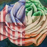 American Beauty Irish Rose Art Print