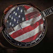 American Bluegrass Music Art Print