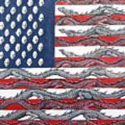 American Conflict Art Print
