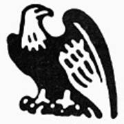 American Eagle, 1854 Art Print
