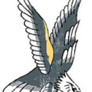 American Eagle Tattoo Art Print