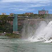 American Falls And Rainbow Bridge Art Print