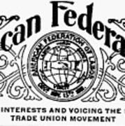 American Federationist Art Print