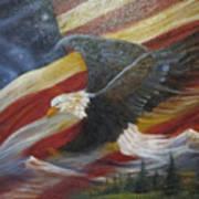 American Glory Art Print
