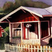 American Home Art Print