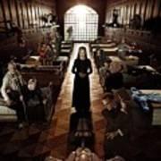 American Horror Story Asylum 2012 Art Print