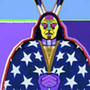 American Indian By Nixo Art Print