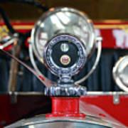 American Lafrance Vintage Fire Truck Gas Cap Art Print