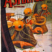 American Magazine Cover Art Print